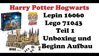 Harry Potter Hogwarts Schloss - Lepin 16060 Teil 1