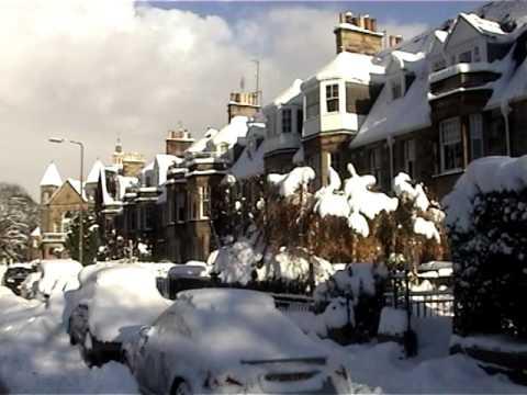 20101210 Edinburgh Morningside in the Snow December 2010
