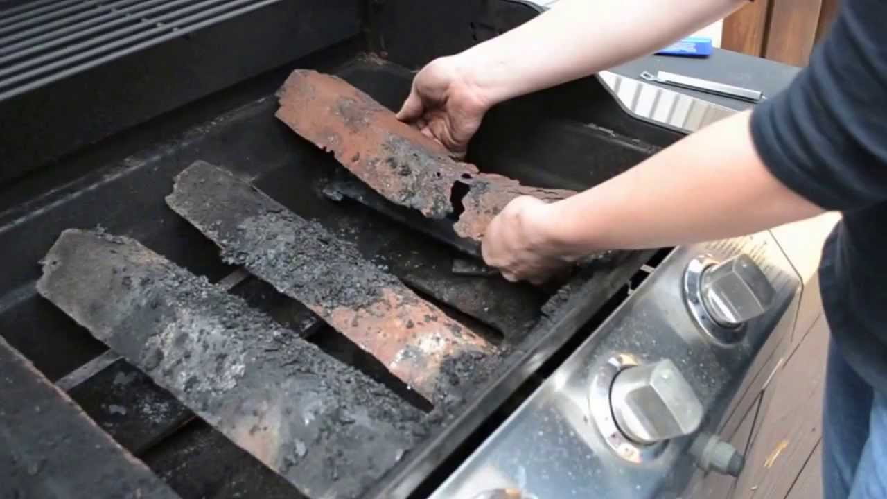 Replace grill part heat shield youtube dailygadgetfo Image collections