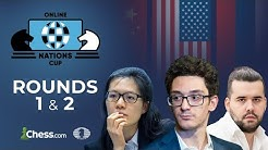 FIDE Chess.com Online Nations Cup | Rounds 1 & 2 |