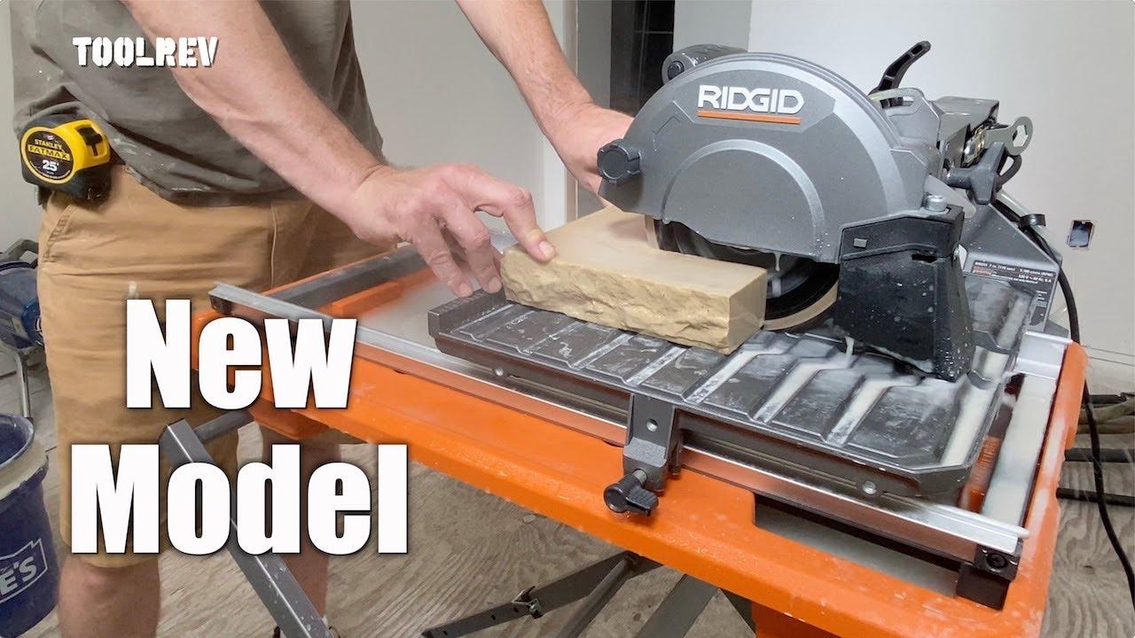ridgid r4031s 7 wet tile saw review new model