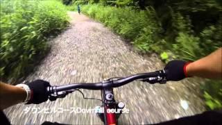白馬岩岳MTBダウンヒルコースのガイドツアーコース動画です。