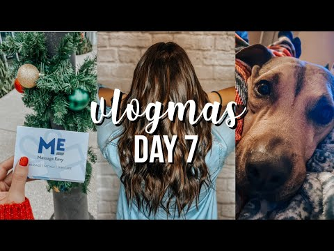 vlogmas-day-7:-new-hair,-massage,-unboxing-things