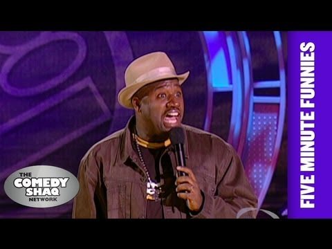 Corey Holcomb⎢Men cheat more than women!⎢Shaq's Five Minute Funnies⎢Comedy Shaq