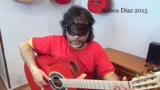 Practice Vs Playing / Paco de Lucia´s style / Skype flamenco guitar lessons CFG Spain Ruben Diaz