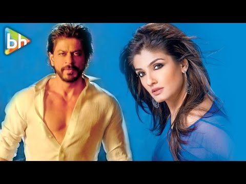 Shah Rukh Khan Always Says You're My Best Smelling Heroine | Raveena Tandon