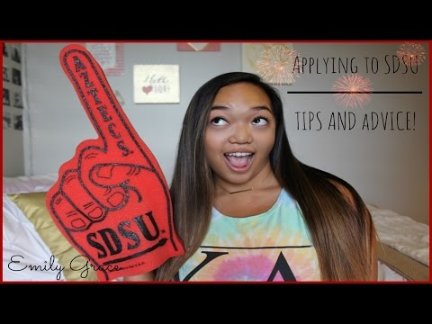 MY EXPERIENCE : Applying & Getting In To SDSU!   Emily Grace