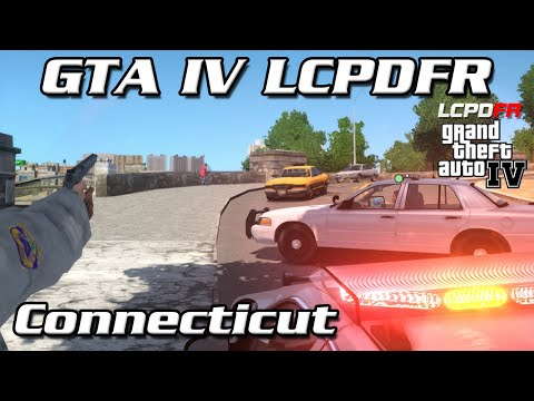 GTA IV LCPDFR MP - Connecticut State Police - Pull out the Shotty
