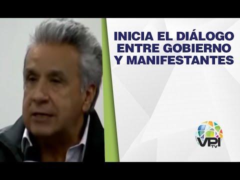 EN VIVO Desde Ecuador - Inicia El Diálogo Entre Gobierno Y Manifestantes