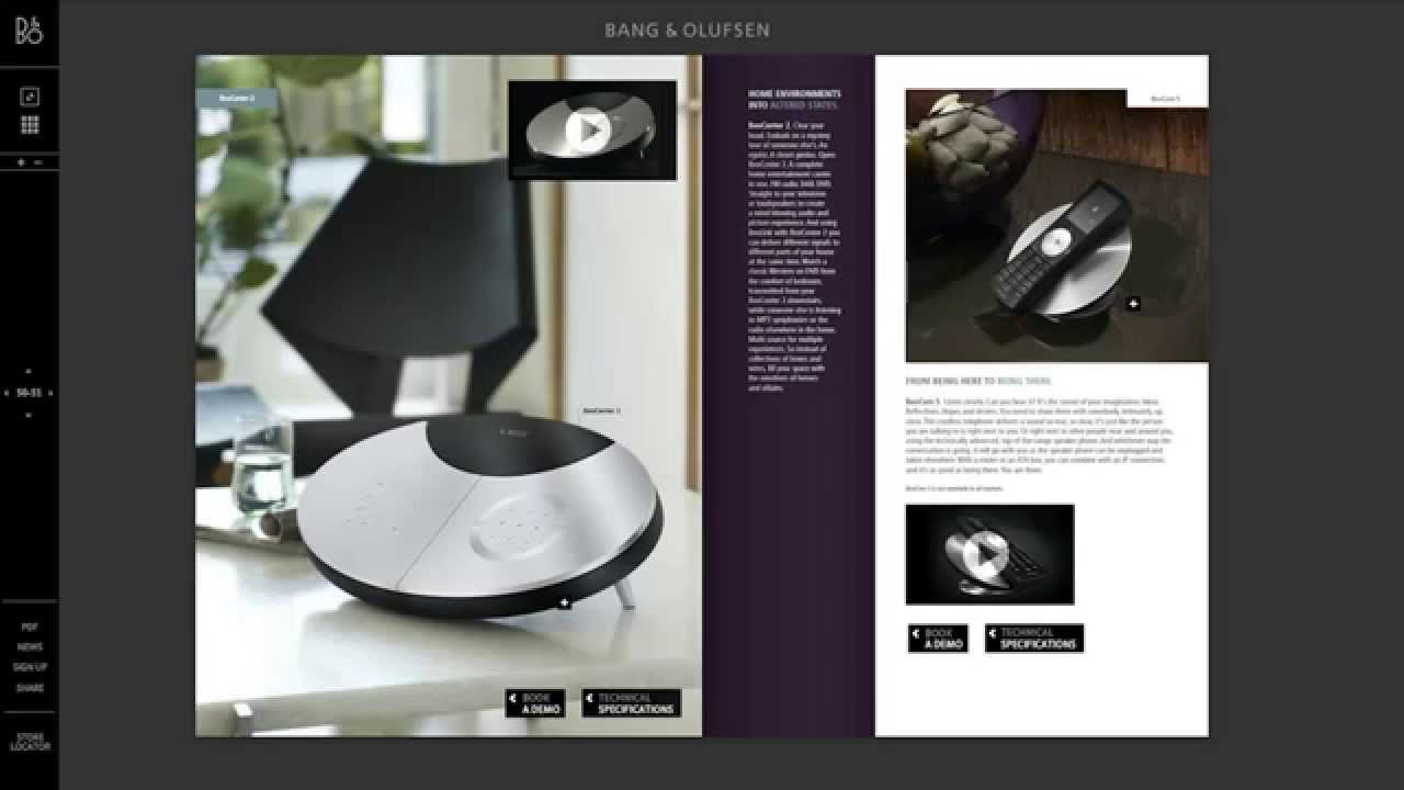 bang olufsen online catalogue youtube. Black Bedroom Furniture Sets. Home Design Ideas