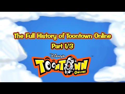 The Full History of Toontown Online Part 1/3