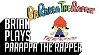 Brian Plays PaRappa the Rapper