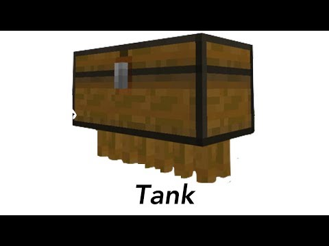 the various types of chests in minecraft