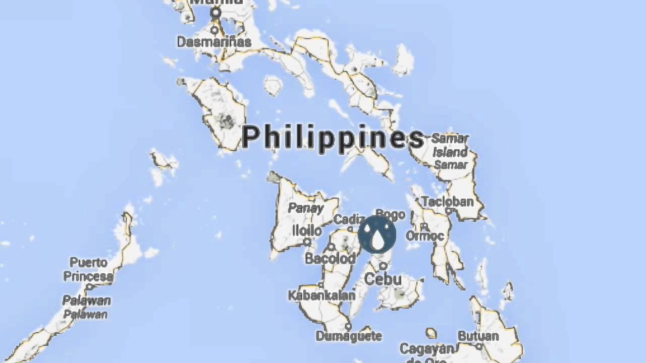 How to map a report on Project Agos disaster information map