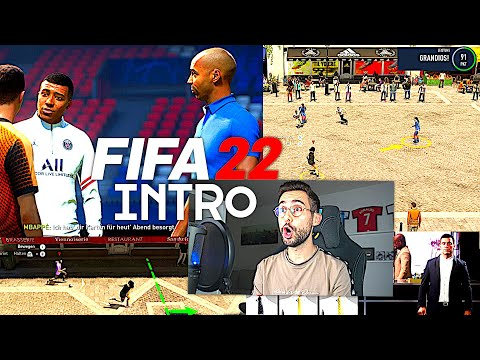 OMG FIFA 22 INTRO IST KOMPLETT WILD !!! 😳🔥 FIFA 22 Intro Story Mode mit Henry, Beckham, Mbappé...