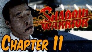 Shadow Warrior 2013 Walkthrough - Chapter 11 BOSS BATTLE Mezu Gameplay HD