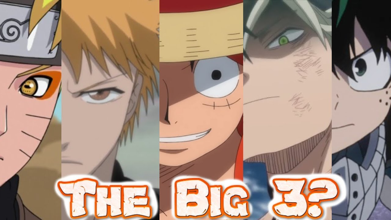 The Big 3 Anime In 2019