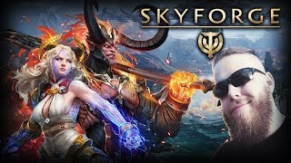 AN ADVENTURE IN SKYFORGE - The Action MMO of Gods!