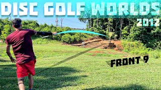 BEST ROUND at WORLDS 2012 DISC GOLF COURSE RENNY GOLD F9