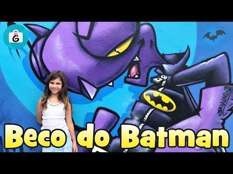 Conheça o Beco do Batman em São Paulo - Gigi na Estrada