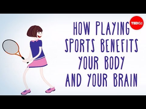 How playing sports benefits your body... and your brain Leah Lagos and Jaspal Ricky Singh