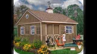 Garden Sheds For Your Backyard