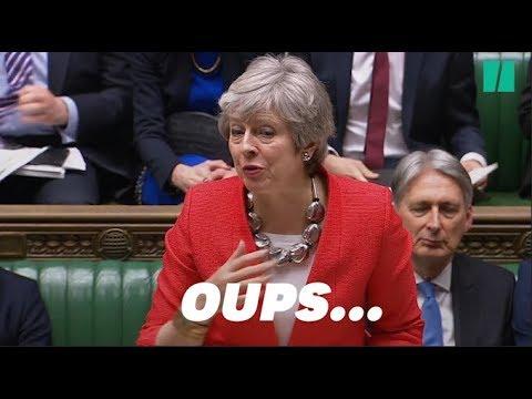 Theresa May a (encore) perdu sa voix avant le second vote sur le Brexit Deal