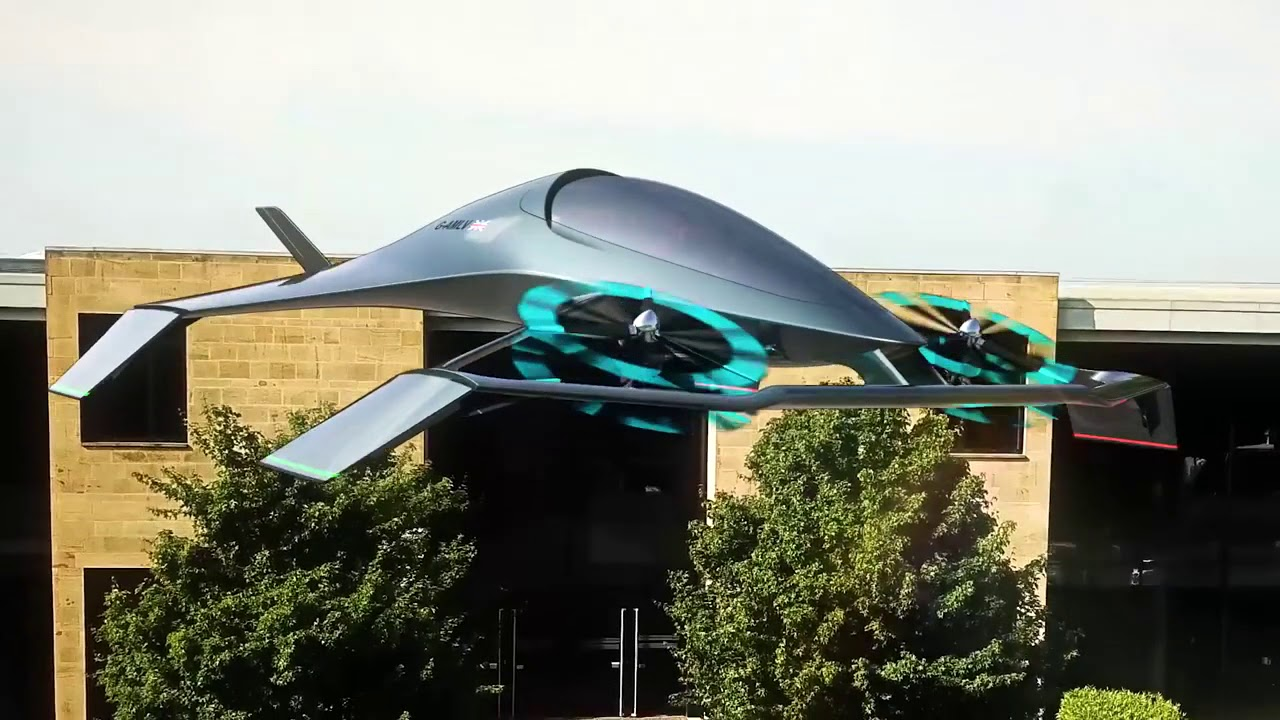 Aston Martin Volante Vision Concept Gets In On The Flying Car Trend Roadshow