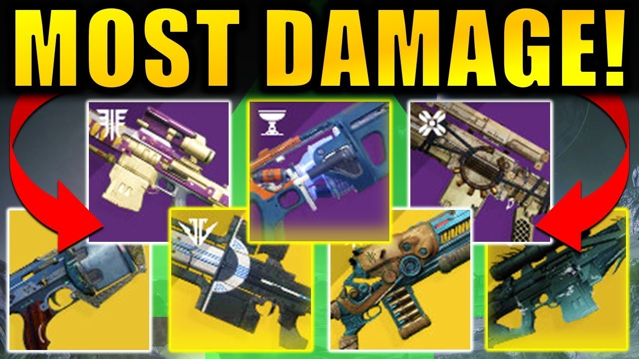 Ten Ton Hammer Destiny 2 Shadowkeep The Highest Damage Loadouts
