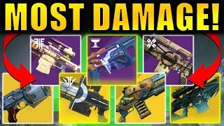 The HIGHEST DAMAGE Loadouts in Destiny 2: Shadowkeep!