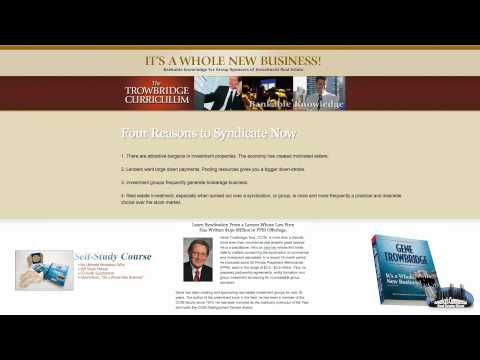 Real Estate Syndication Strategies: America's Commercial Real Estate Show