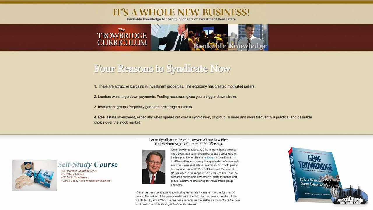 Real Estate Syndication Strategies: America's Commercial Real ...