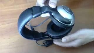 распаковка и обзор наушников Cosonic CD-860 V / MV