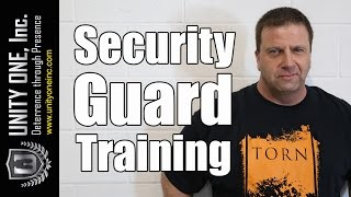 Security Guard Training For The Best Security Guards in Las Vegas