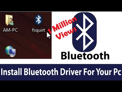 How To Download And Install Bluetooth Driver On Pc For Windows 7/8/10
