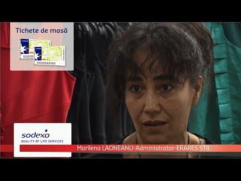 Testimonial al companiei Erares Stil despre utilizarea tichetelor de masa Gusto Pass de la Sodexo