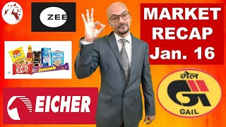 LATEST MARKET NEWS | Eicher Motors Share Price | ZEEL Share | Market Recap | Hindi
