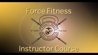 Marines Force Fitness Instructor Course