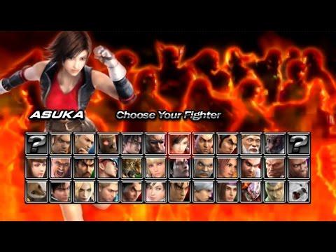 Tekken 5 Dark Resurrection Psp Asuka Story Mode Playthrough Youtube