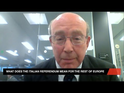 What Is The Italian Referendum?