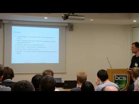 OSHUG 32 — Micro Python: Python for microcontrollers, Damien George