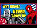 Why Don't MARVEL Superheroes Age??  Comic Misconceptions  NerdSync