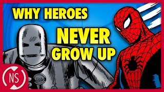 Why Don't MARVEL Superheroes Age?? || Comic Misconceptions || NerdSync
