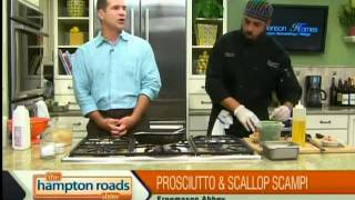 Prosciutto & Scallop Scampi