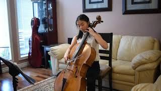 Vanny Hu: Suite No. 4, Prelude by Johann Sebastian Bach
