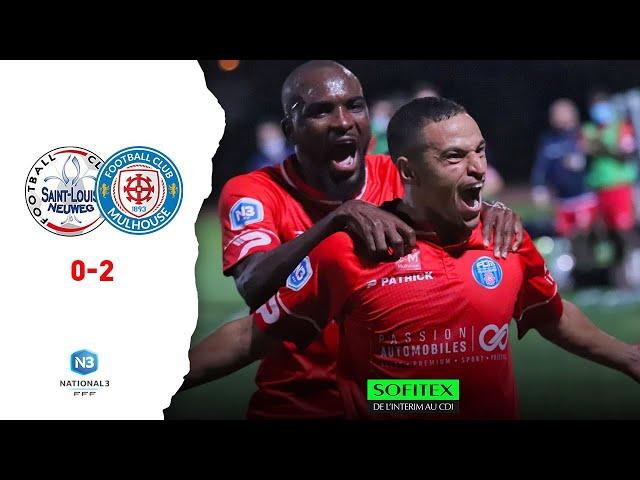 National 3 : Saint-Louis / FC Mulhouse (0-2)