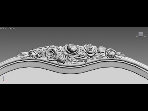 Ролик Изготовление декора для изголовья кровати - decor headboard of a bed