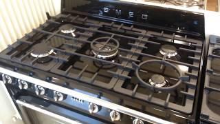 TR90NNL1 - Video SMEG fornuis zwart | De Schouw Witgoed