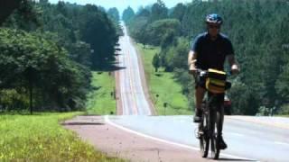 en bicicleta desde Eldorado a Puerto Rico, Misiones, Argentina