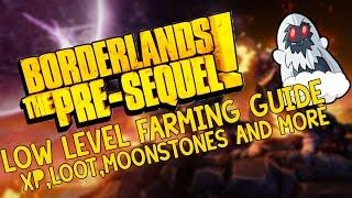 Borderlands The Pre-Sequel - Ultimate low level Farm! - XP, Guns and more!